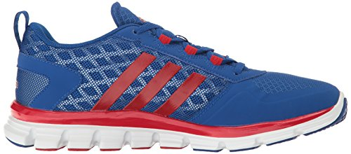 Adidas Hombres Freak X Carbon Mid Cross Entrenador Collegiate Royal / Power Red / Tech Grey / Metallic