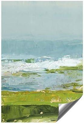 30x20 5-Pack CGSignLab Sale Nautical Wave Window Cling
