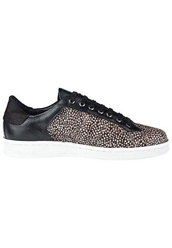 Maruti Damen Schuhe Nova Hairon/Leather frog white black
