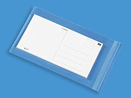 Amazon uline 5 12 x 7 12 clear resalable a7 card envelopes image unavailable m4hsunfo