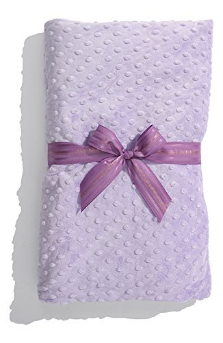 Heated Luxury Spa Blankie - Lavender Dot