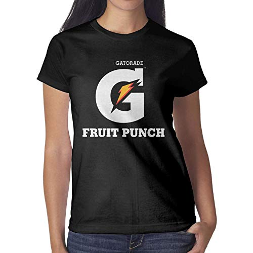 Women Gatorade Fruit Punch Short Sleeve T Shirt Loose Humor Comfy Shirt]()