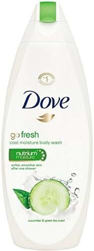 Dove Go Fresh Body Wash, Cool Moisture, Cucumber & Green Tea 12 oz