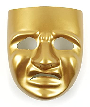 Amazon. Com: mask-it comedy mask with instruction sheet, 7. 75-inch.