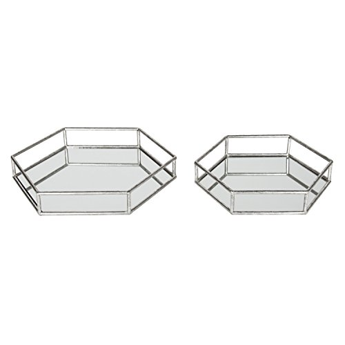 Kate Laurel Felicia Mirrored Decorative product image