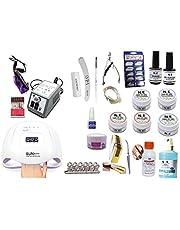 Kit Para Manicure Unha Acrigel Fibra Vidro Cabine Bivolt 2.3