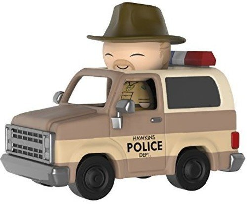 - Funko Dorbz Ridez: Stranger Things - Hopper with Deputy Vehicle Collectible Vinyl Figure