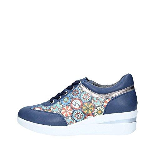 Multi 0731 Donna Sneakers Roma 38 Navy Gattinoni wPpqIxt