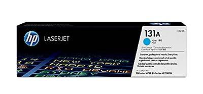 HP 131A (CF211A) Toner Cartridge, Cyan for HP LaserJet Pro M251 M276