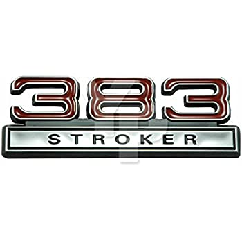 Amazon 383 62 liter stroker engine emblems in chrome red 4 383 62 liter stroker engine emblem in chrome red 4 long publicscrutiny Image collections