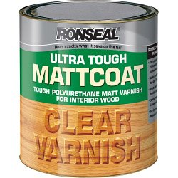 Ronseal Ultra Tough Varnish Matt Coat 750ml ASINOAUK30K