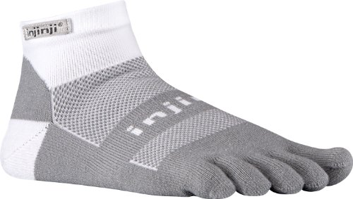 Injinji Run Midweight Mini Crew Socks