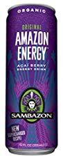 PURE POWER FROM THE HEART OF THE AMAZON. Refreshingly epic taste. Powerful antioxidants from Acai Berry and Acerola Cherry. Natural Caffeine from Yerba Mate, Green Tea & Guaraná. Made with organic and GMO-free ingredients sustainably sourced in t...