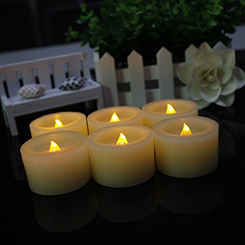 Flickering Flameless Candles Operated Unscented product image