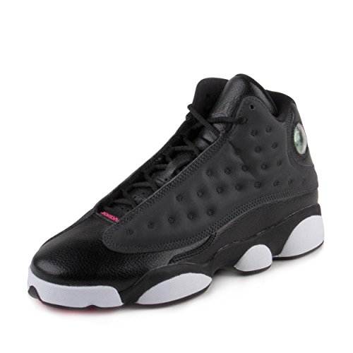 Jordan Retro 13 ''Hyper Pink'' Black/Anthracite-Anthracite (Big Kid) (6.5) by Jordan