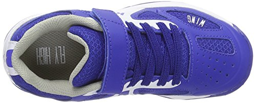 Kempa Fly High Wing Junior, Zapatillas de Balonmano Unisex Niños azul royal / blanco