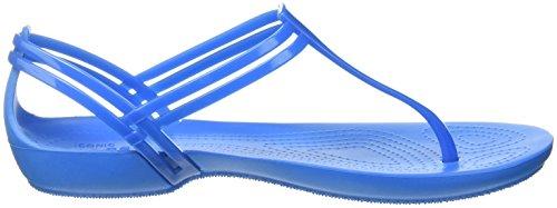 Crocs Womens Isabella T-strap Blu