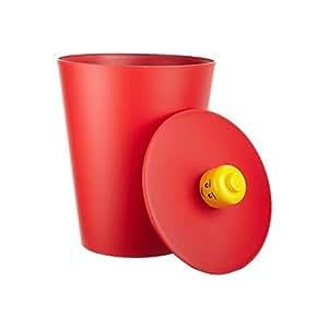 LEGO - Cesto multiuso, color rojo (40601730)