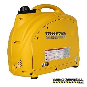 GENERADOR INVERTER INDOOSTRIAL DOOS.2X.INV | 2.000 W | Compatible con herramientas eléctricas: Amazon.es: Bricolaje y herramientas