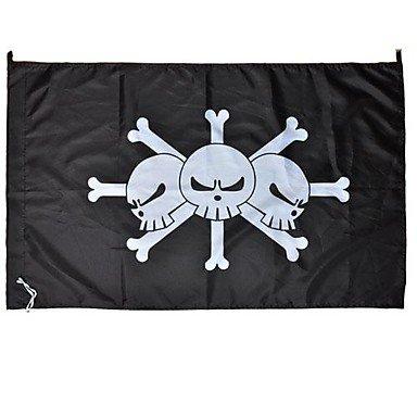 cosplay? Una pieza Negro Barba Marshall D.Teach Flag Cosplay ...