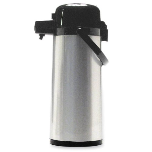 16' Pot (Wholesale CASE of 5 - CoffeePro Vacuum-insulated Airpot -Airpot, w/ Handle, 2.2 Liter, 6