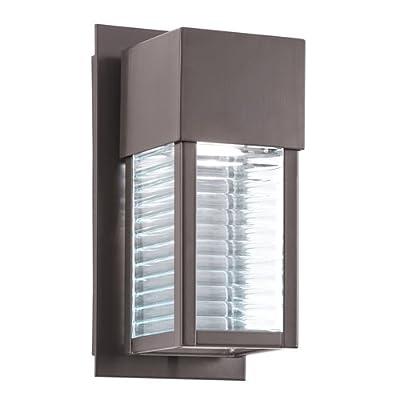 "Kichler 49117LED Sorel 11"" Energy Efficient LED Outdoor Wall Light,"