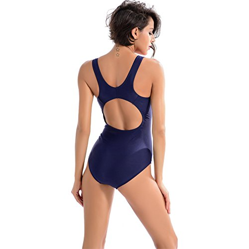 XLHGG Traje de baño de una sola pieza de natación de bikini triángulo de las mujeres