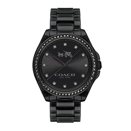 COACH Womens Tristen Black Watch