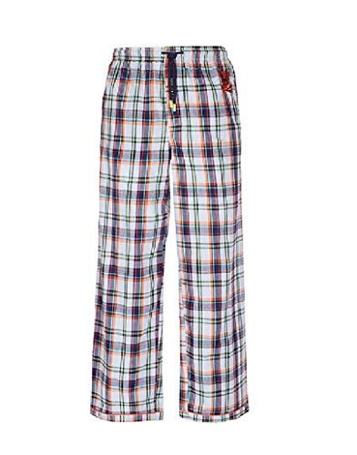 - Psycho Bunny Men's Woven Lounge Pant (Large, Aruba Madras)