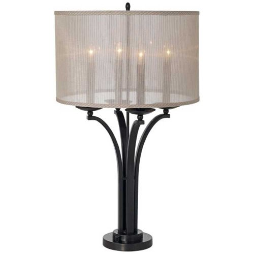 Pacific Coast Lighting Kathy Ireland Gallery Pennsylvania Country Table (Pacific Coast Bronze Table Lamp)