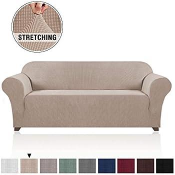Amazon Com High Stretch Spandex Jacquard Sofa Cover Wing