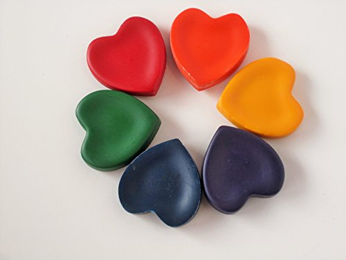 Heart crayons valentines day crayons love crayons