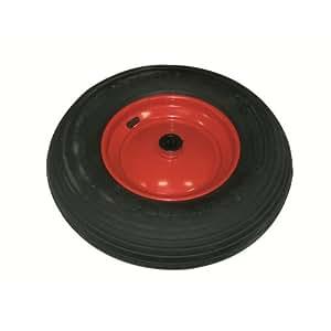 Rueda de repuesto 400 x 100/25 x 75 mm para carretilla
