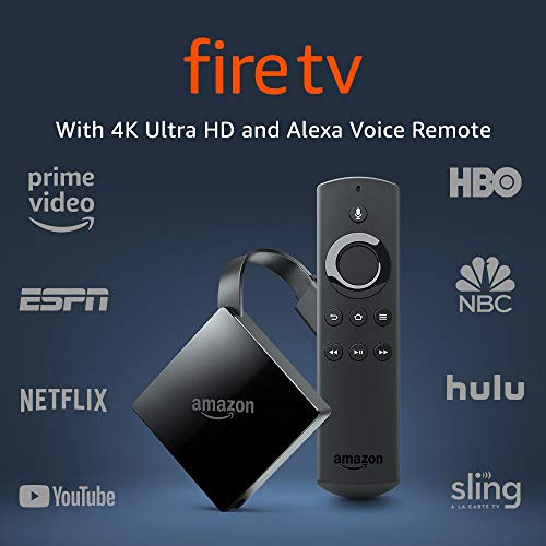 Certified Refurbished Fire TV with 4K Ultra HD and Alexa