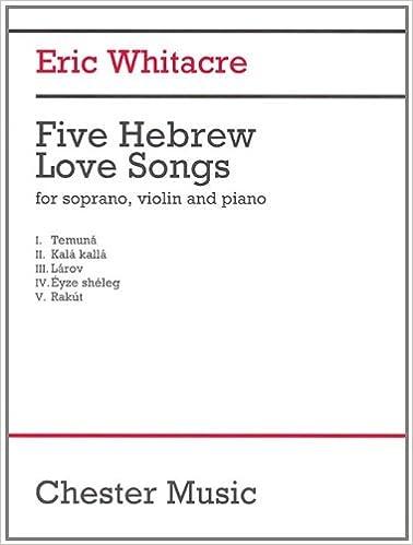 Amazon com: 5 Hebrew Love Songs: Soprano, Violin, Tambourine, and
