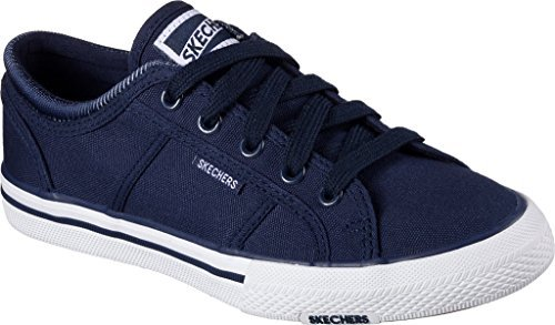 BOBS from SKECHERS Women's Utopia Navy Oxford