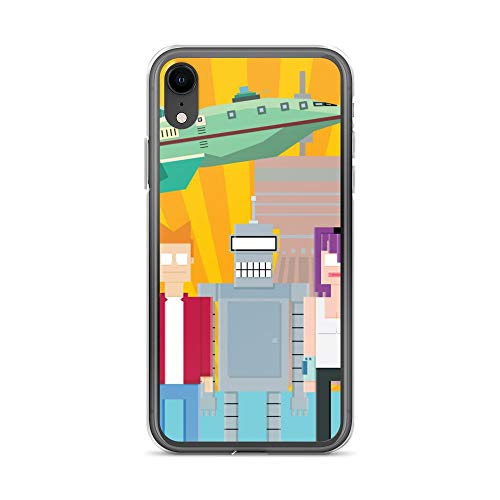 iPhone XR Case Anti-Scratch Television Show Transparent Cases Cover Futurama Tv Shows Series Crystal ()