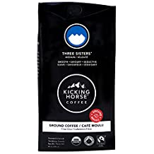 Kicking Horse Coffee, Three Sisters, Medium Roast, Ground, 284 g