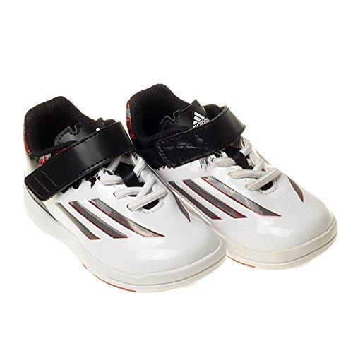 adidas F10 Tf J - Zapatillas Unisex Niños Blanco-Negro