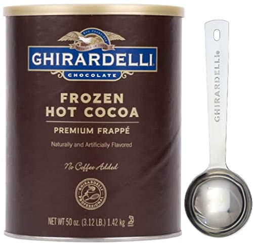 Ghirardelli - Frozen Hot Cocoa Premium Frappé 3.12lbs - with Exclusive Measuring Spoon ()