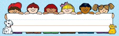 Carson Dellosa D.J. Inkers Kids Nameplates (622010)