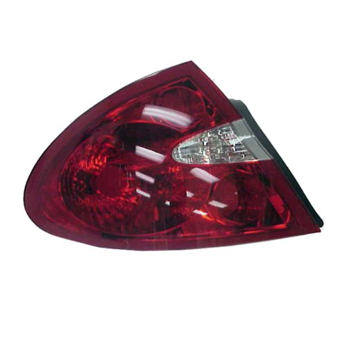 (TYC 11-6136-00 Buick Lacrosse Driver Side Replacement Tail Light Assembly)