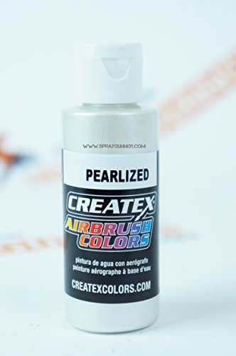 Price comparison product image Airbrush Colors Createx Pearlized 5310 Pearl White 2oz. Paint. by SprayGunner