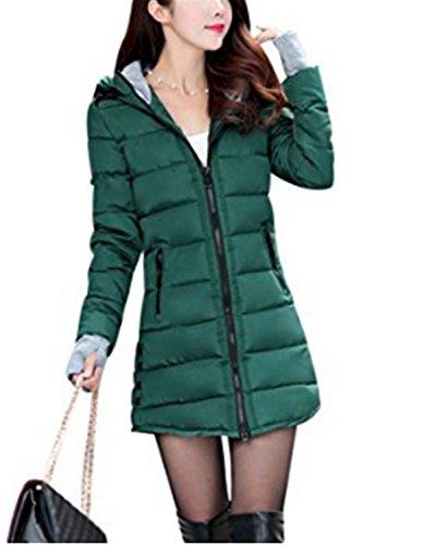 c2b66833 Capucha Abajo Verde Invierno Chaquetas Chaqueta Yogly Down Con ...