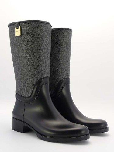 Borbonese stivali in pelle neri n.38 in 20025 Legnano for