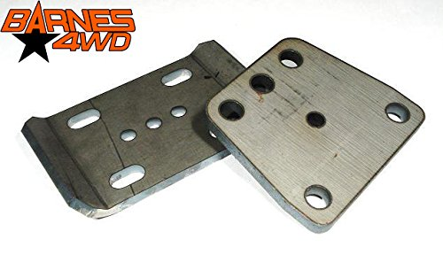 U BOLT PLATES, FORD KINGPIN D60 (FRONT) PAIR