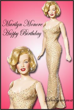 Franklin Mint Marilyn Monroe Happy Birthday Mr. President Doll ()
