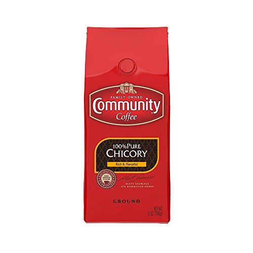 Community Coffee Premium Ground 100% Chicory, 12 oz., Pack of 6