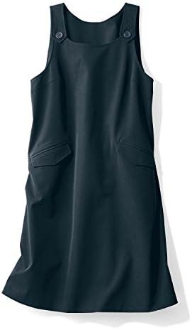 [スポンサー プロダクト][ベルメゾン] 妊婦さん 事務服 マタニティ ジャンパースカート ブラック サイズ:マタニティM