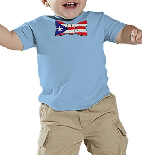 Toddler Infant Puerto Rico Bowtie